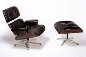 Charles eames lounge chair sessel und ottoman hocker for Eames lounge sessel nachbau