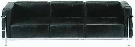Sofa LC3 Dreisitzer von Le Corbusier (three seater)